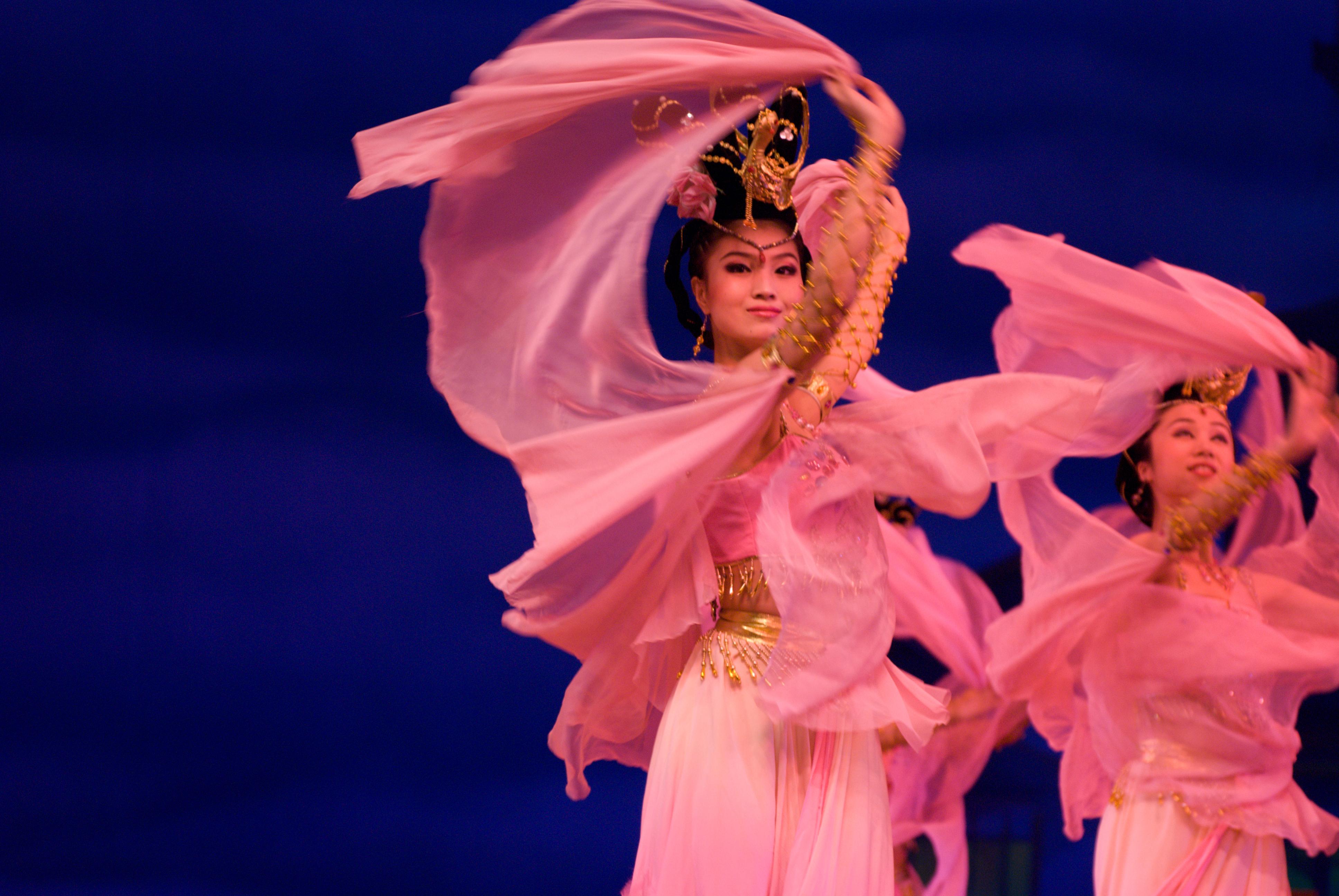 Danse En Chine — Wikipédia pour Spectacle Danse Chinoise