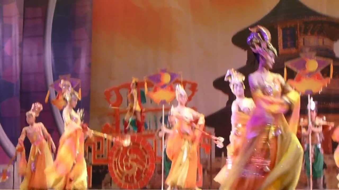 Danse Traditionnelle Chinoise À Pékin tout Spectacle Danse Chinoise