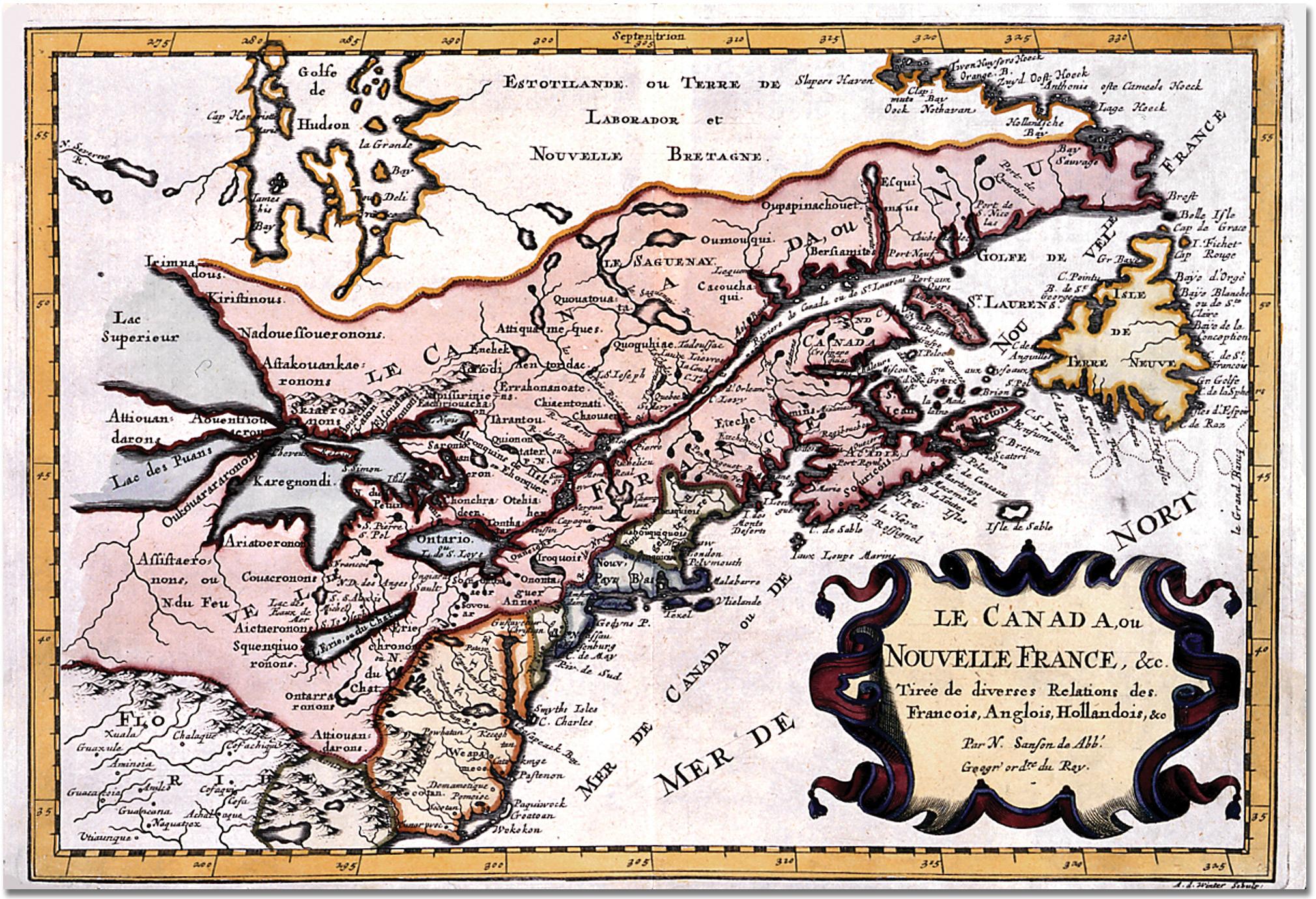 Datei:le Canada Ou Nouvelle France – Wikipedia dedans Nouvelle Region France