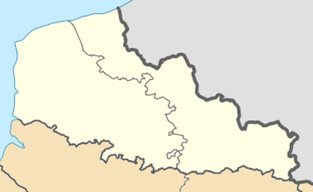 Datei:nord-Pas-De-Calais Region Location Map – Wikipedia avec Carte Des Régions Vierge