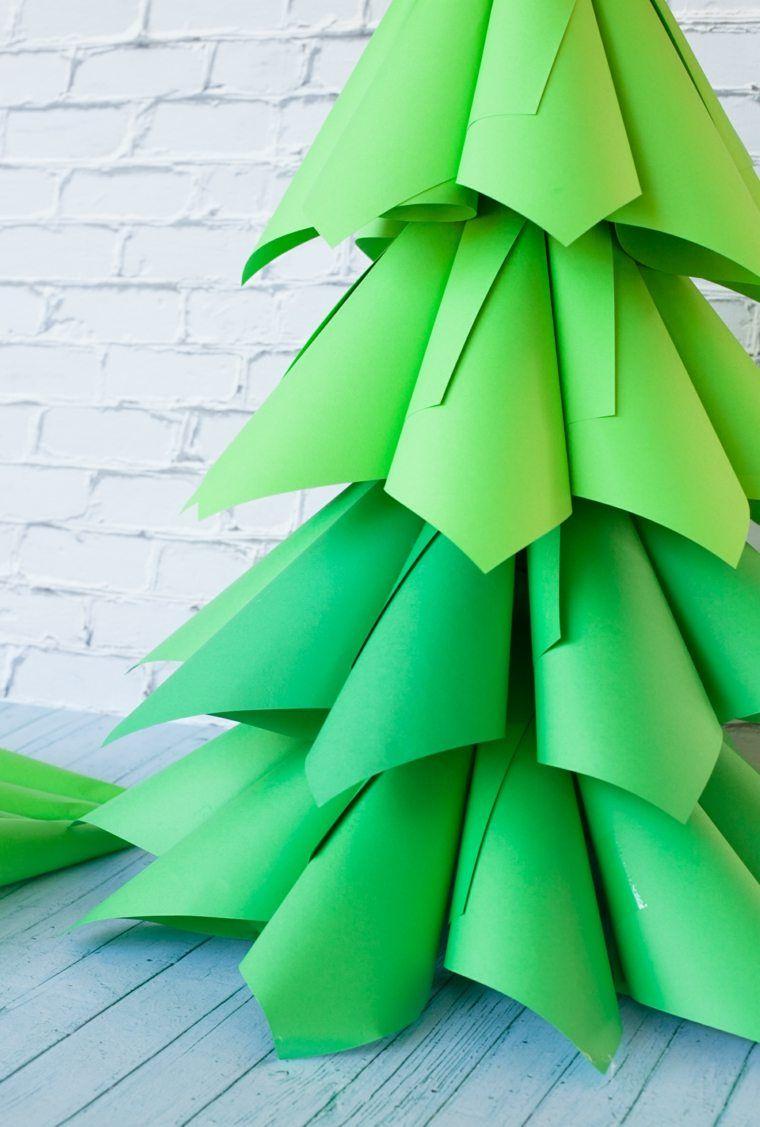 Déco Noël À Faire Soi-Même : 75 Idées De Sapin Original Pour tout Origami Sapin De Noel