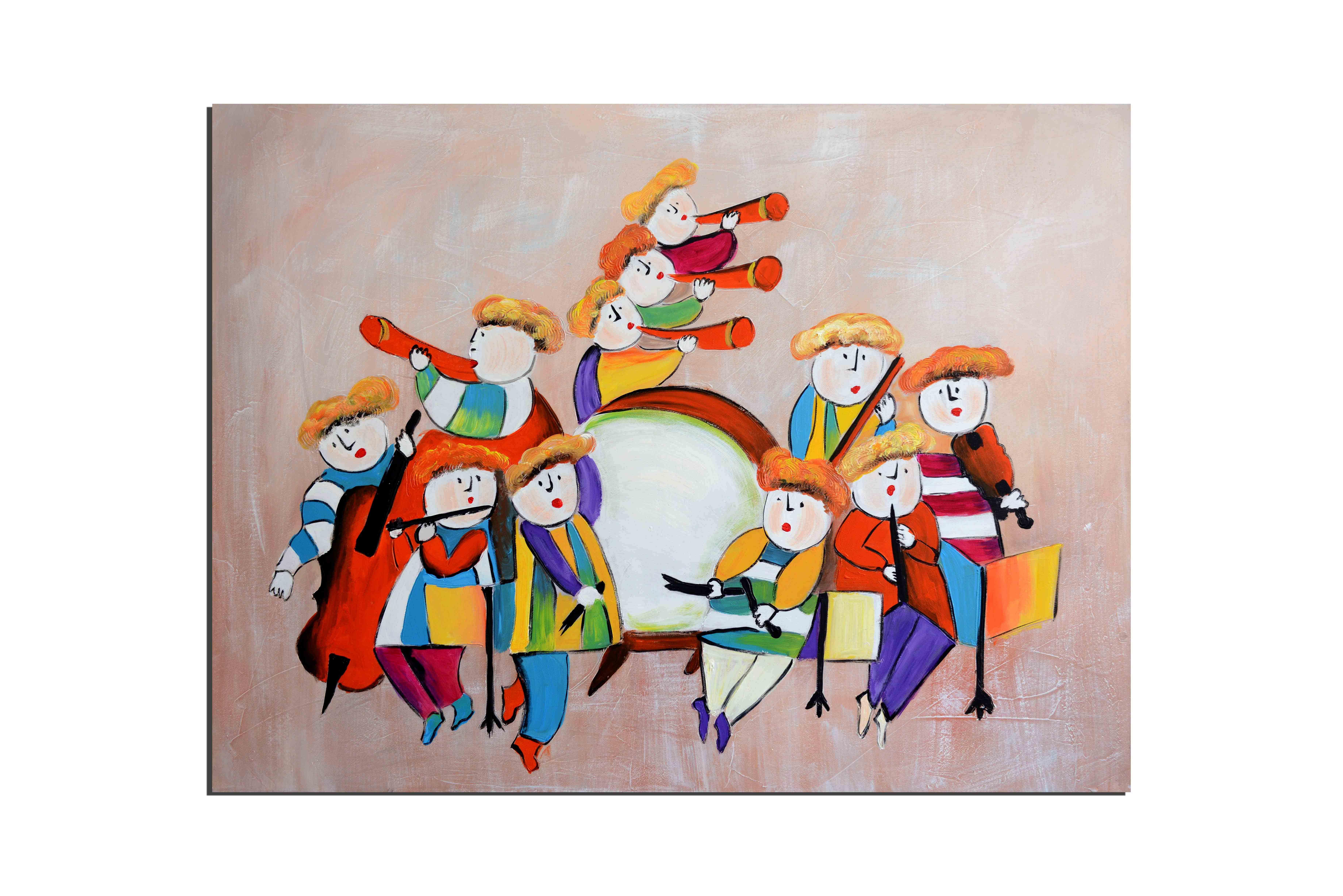 Décoration Chambre D'enfant Decoration Tableau Pas Cher Prix Tableau  Peinture Contemporain tout Tableau De Peinture Pour Enfant