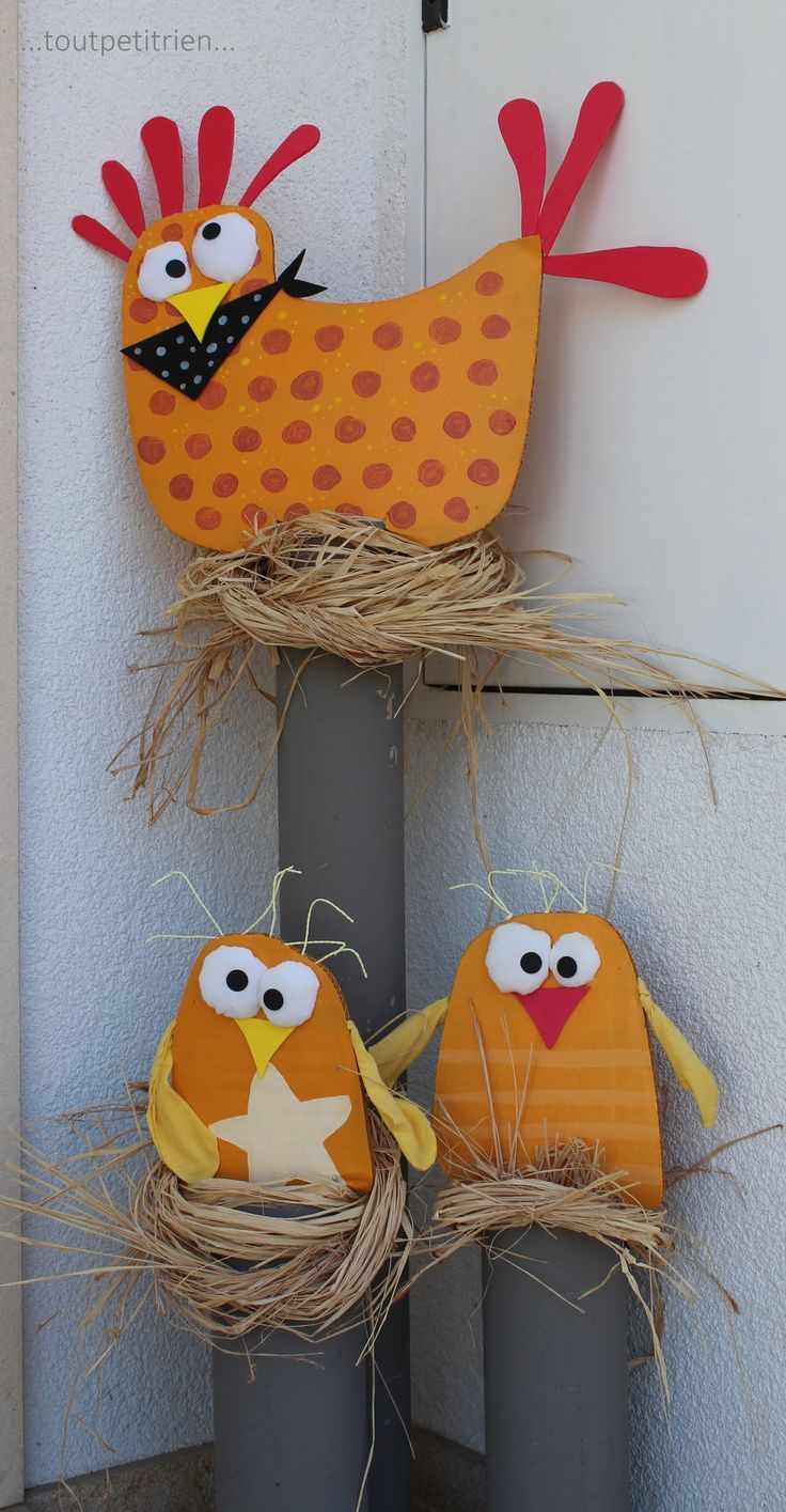 Décorations Extérieures: Noël, Pâques, Halloween – Site encequiconcerne Bricolage Pour Paques Maternelle