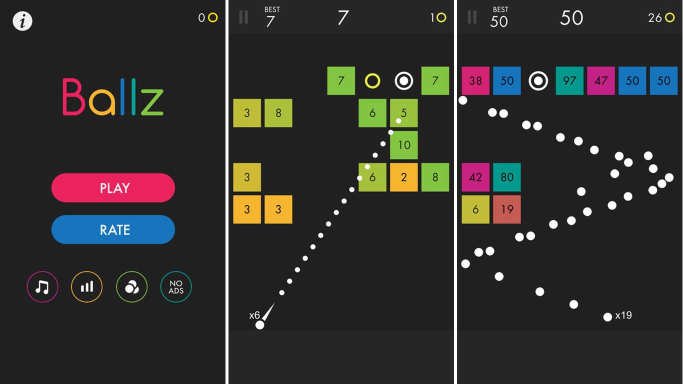 Découvrez Ballz, Le Jeu Numéro 1 Sur L'app Store Us intérieur Jeux De Casse Brique Gratuit En Ligne