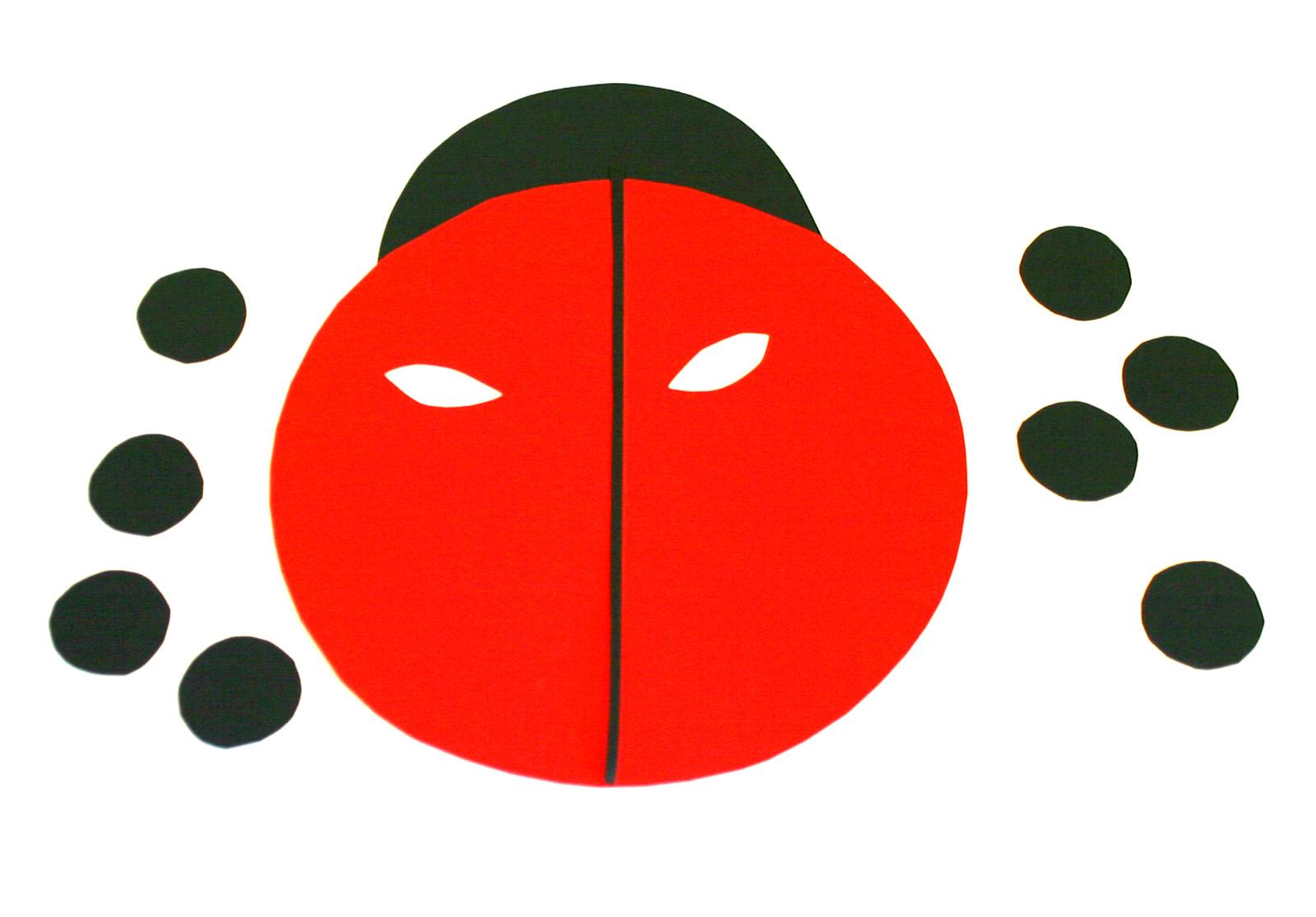Déguisement : Le Masque De Coccinelle - Family Sphere avec Coccinelle A Coller