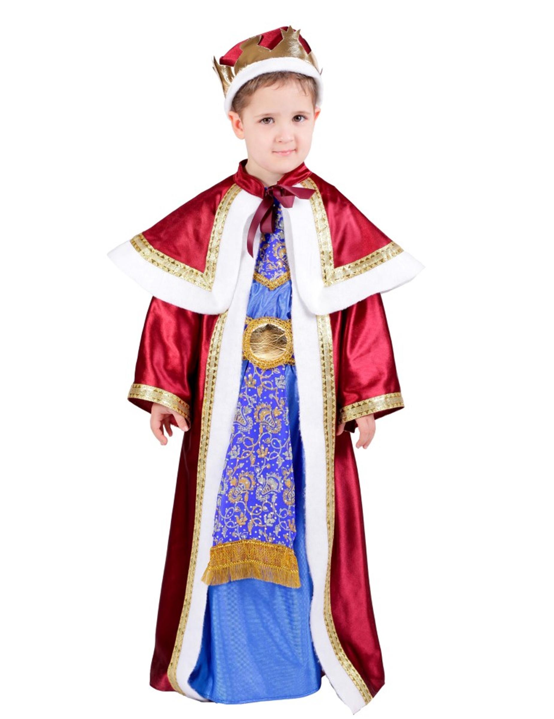 Déguisement Roi Mage Melchior Enfant tout 3 Roi Mage