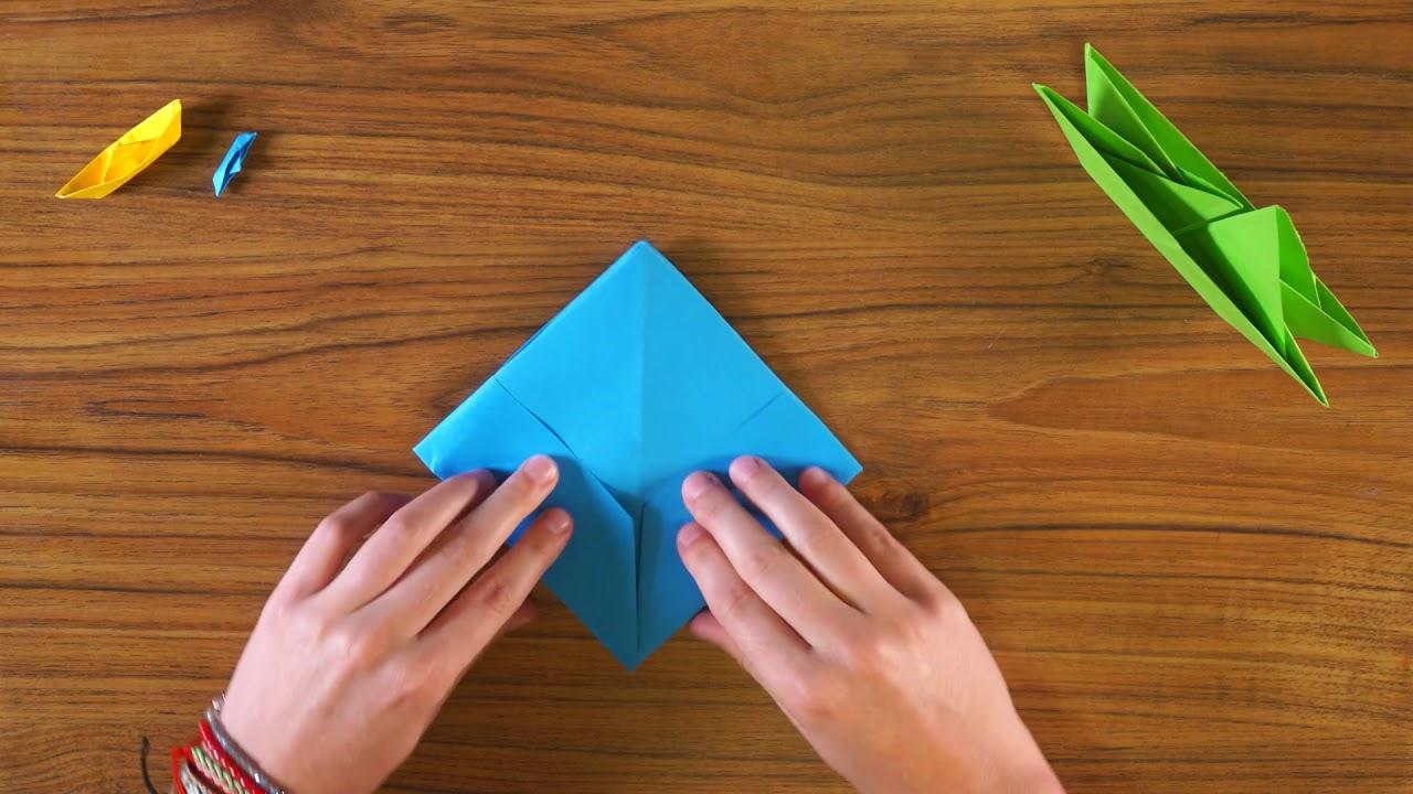 #demainlabièvre - Tuto Petit Bateau serapportantà Origami Petit Bateau