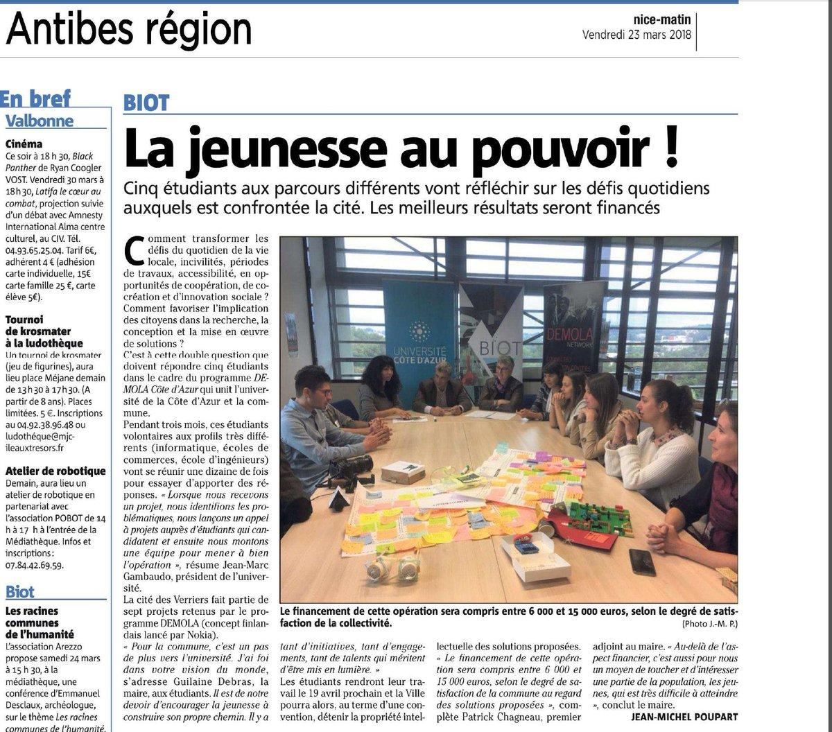 """Demola Côte D'azur On Twitter: """"article About Partnership pour Ce Soir On Joue En Famille 3"""