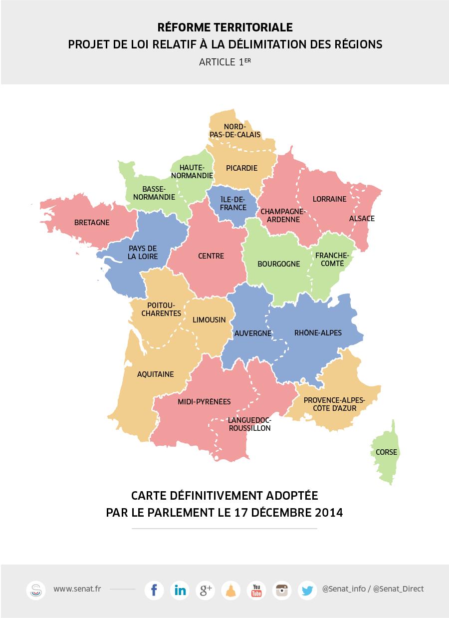 Dernier Congrès D'un Territoire A 22 Facettes Pour L pour Nouvelle Carte Des Régions De France