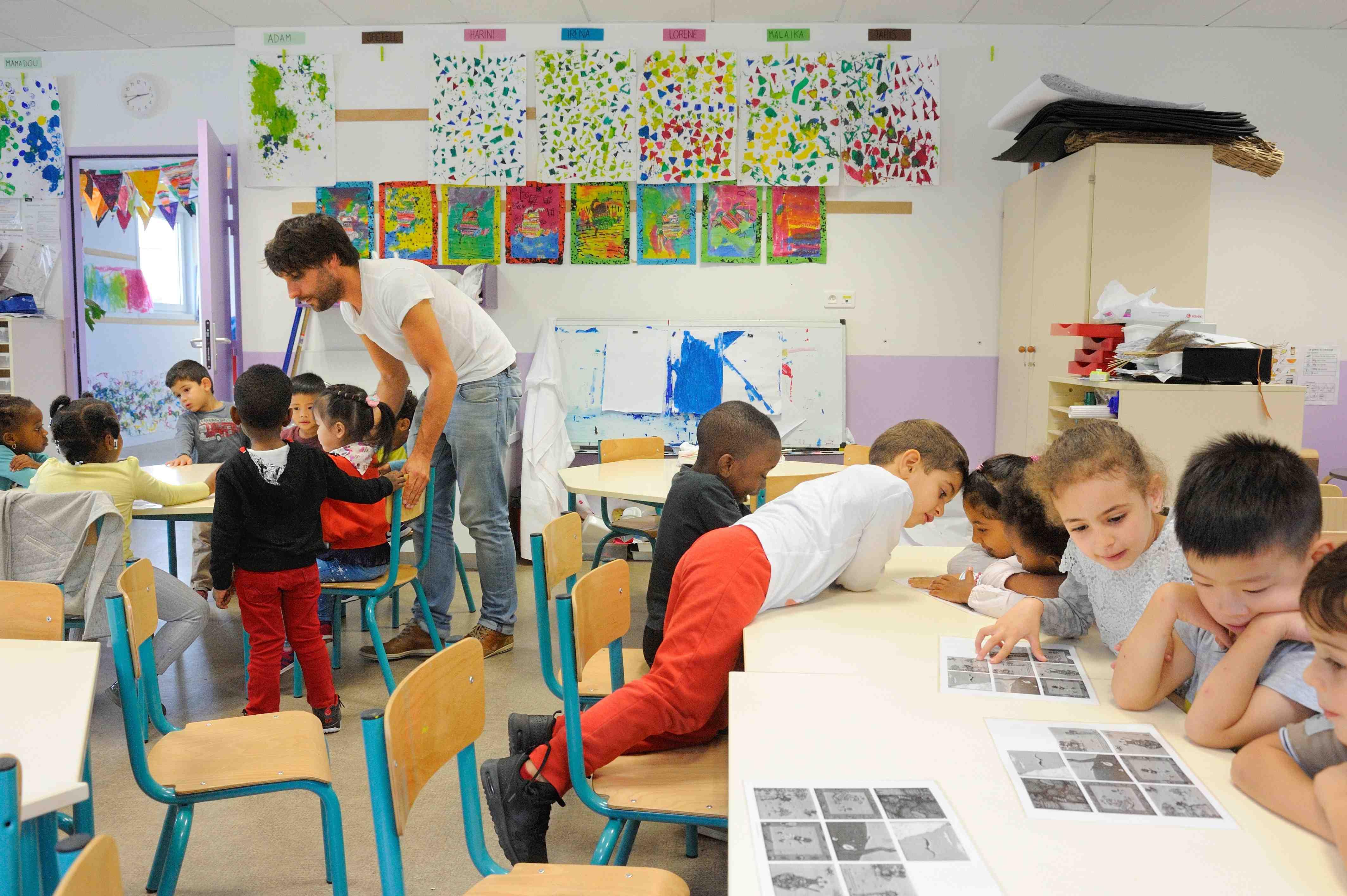 Des Classes Multi-Âges Pour Mieux Grandir | Lejsd serapportantà Grande Section Maternelle Age