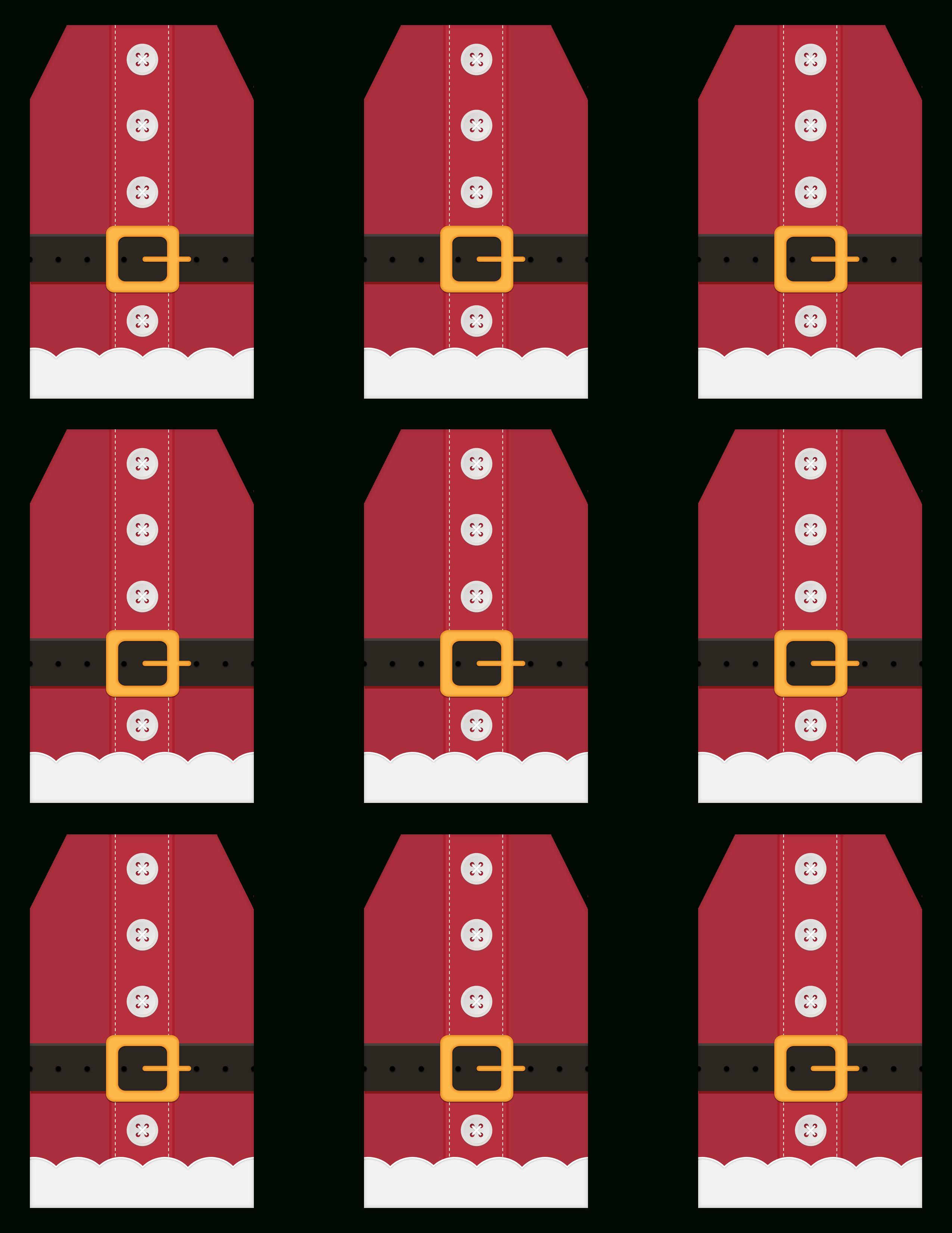 Des Étiquettes De Noël À Imprimer ! | À Découvrir pour Etiquette Noel A Imprimer