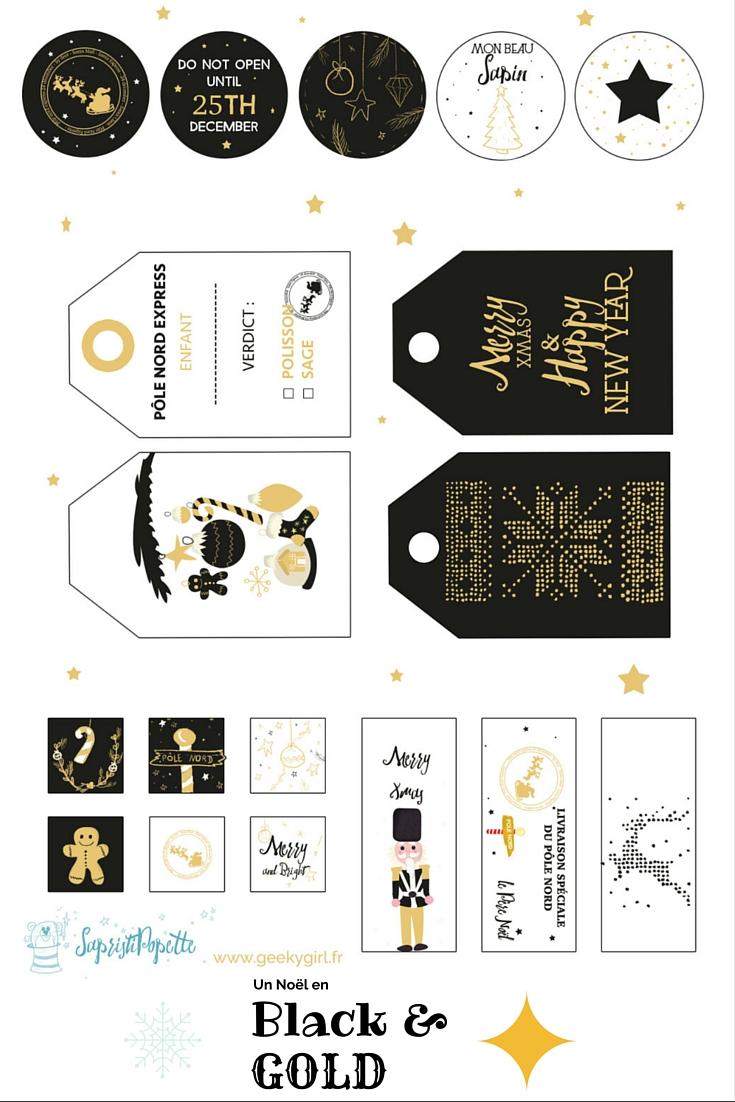Des Étiquettes De Noël À Télécharger : Joyeux Noël dedans Etiquette Noel A Imprimer