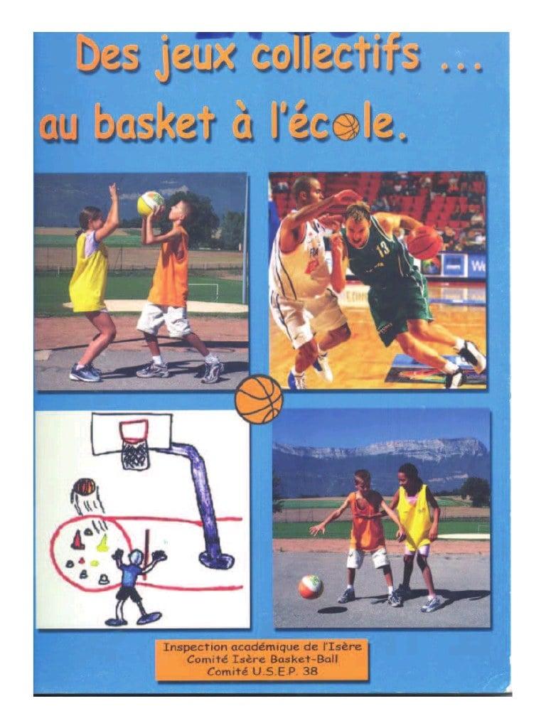 Des Jeux Collectifs  Au Basket À L'école) Par à Jeux Collectifs Cycle 3 Sans Ballon
