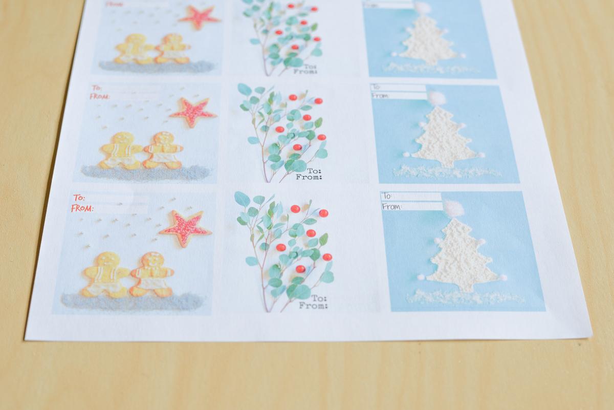 Des Jolies Étiquettes De Noël À Imprimer - Joli Bonheur - Un intérieur Etiquette Noel A Imprimer