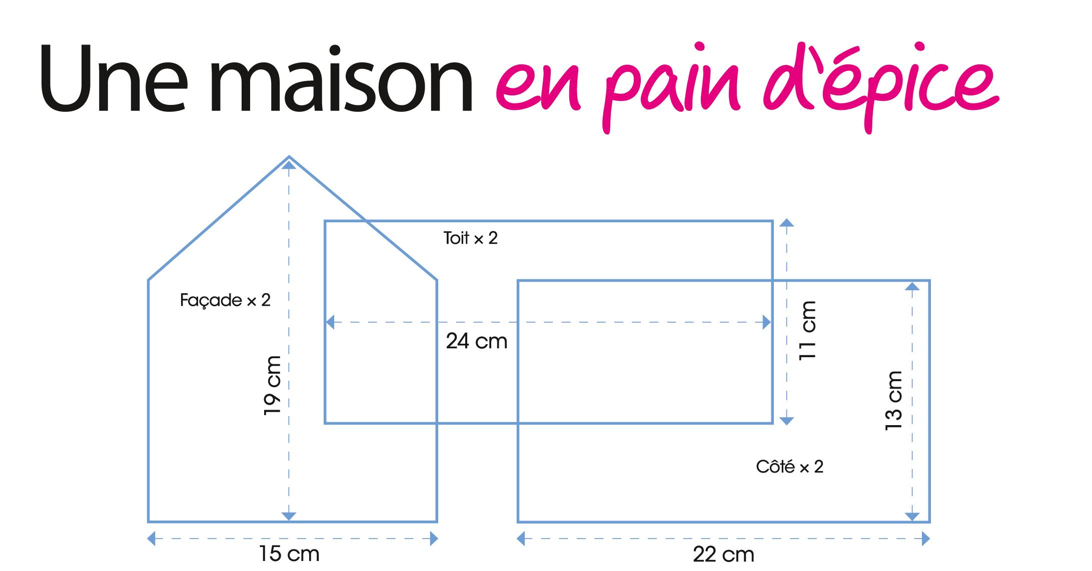 Des Petites Maisons En Pain D'épices À Offrir : Femme encequiconcerne Patron De Maison En Papier A Imprimer