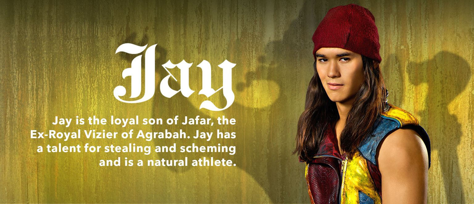 Descendants - Movie Homepage - Character Slider - Jay dedans Descendants Personnages