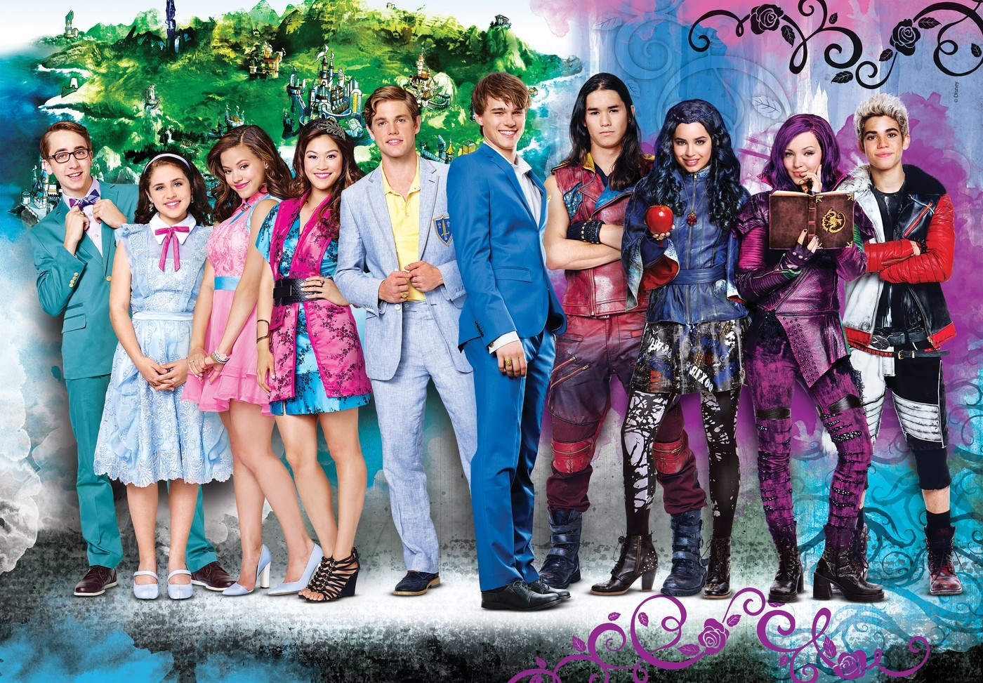 Descendants - Site De Film-Dados ! avec Descendants Personnages
