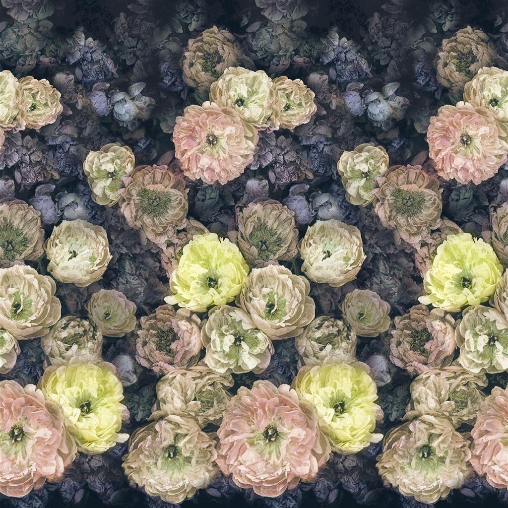 Designers Guild Tapete, Le Poeme De Fleurs Midnight à Poeme Les Fleurs