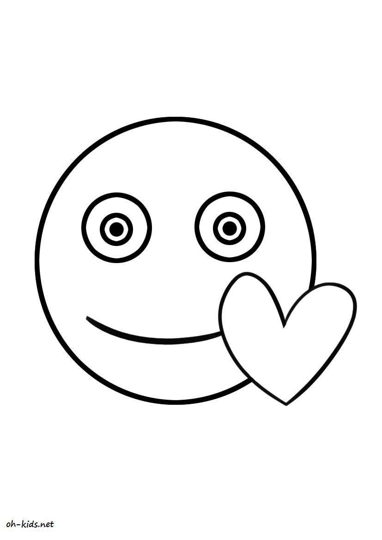 Dessin #279 - Coloriage Saint-Valentin À Imprimer - Oh-Kids pour Dessin Pour La Saint Valentin
