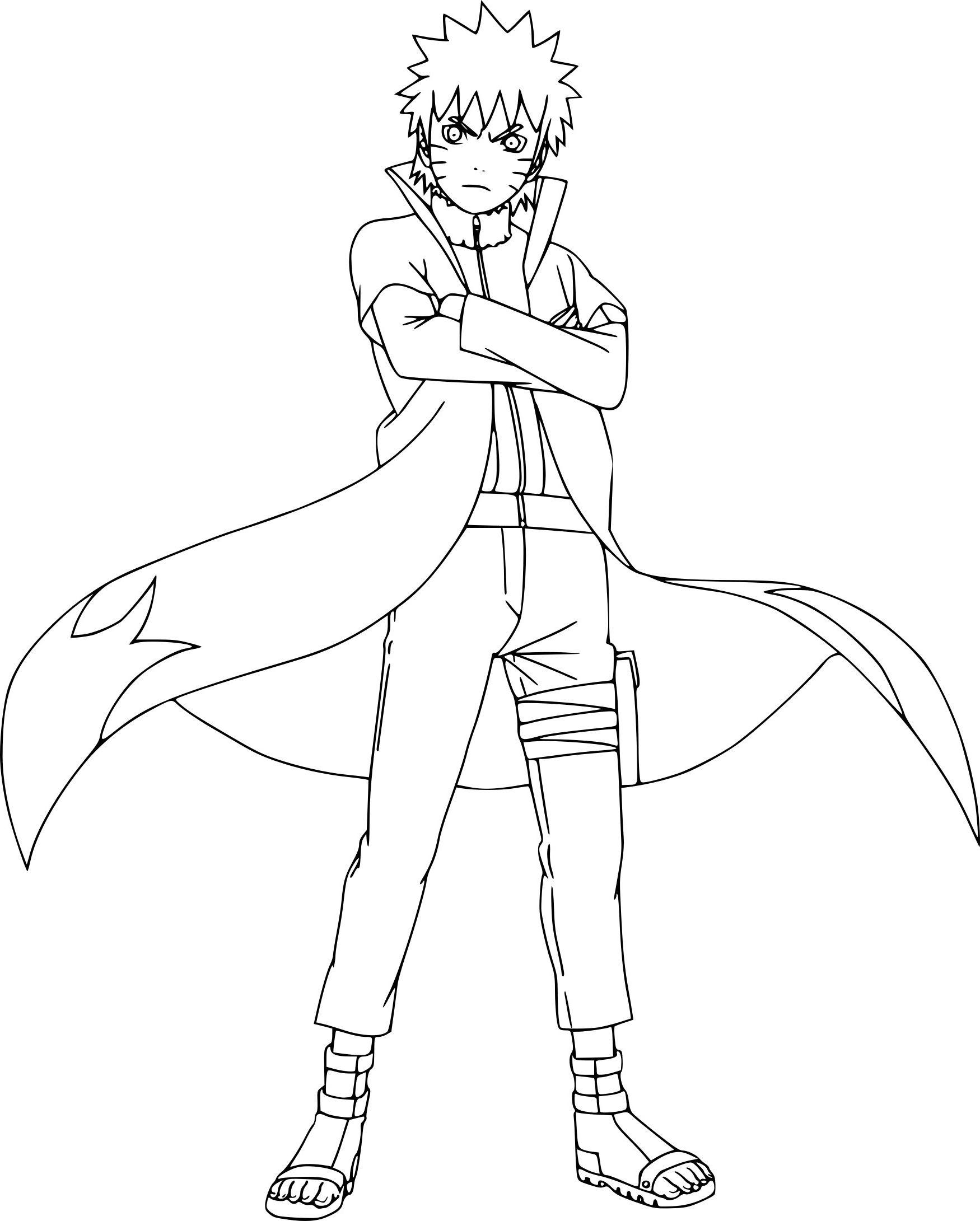 Dessin A Colorier Naruto A Imprimer In 2020 | Sketches pour Coloriage De Naruto Shippuden A Imprimer