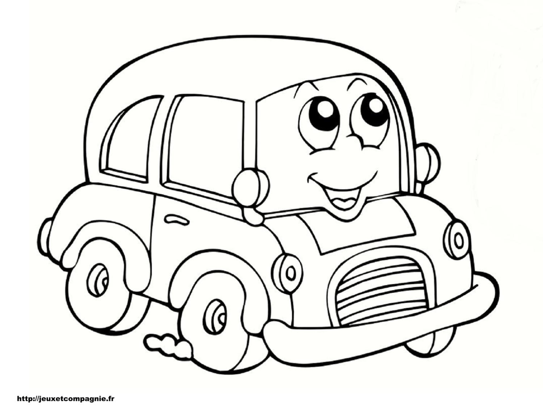 Dessin À Colorier Vehicule A Imprimer encequiconcerne Coloriage Vehicule