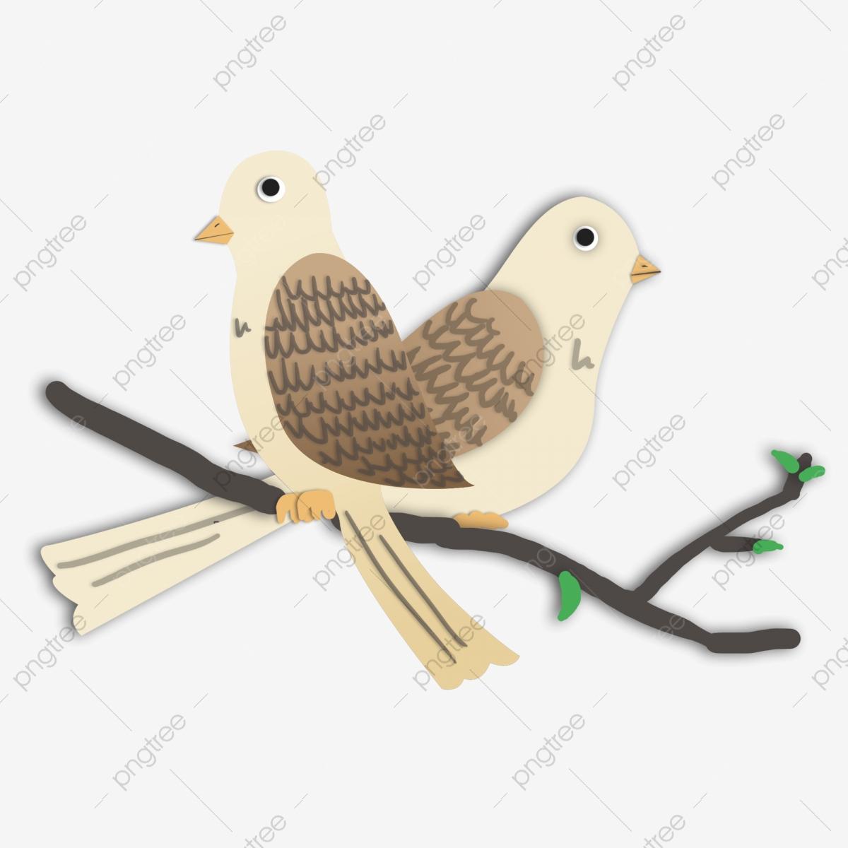Dessin Animé Oiseaux Mignons Une Paire D'oiseaux encequiconcerne Images D Oiseaux Gratuites