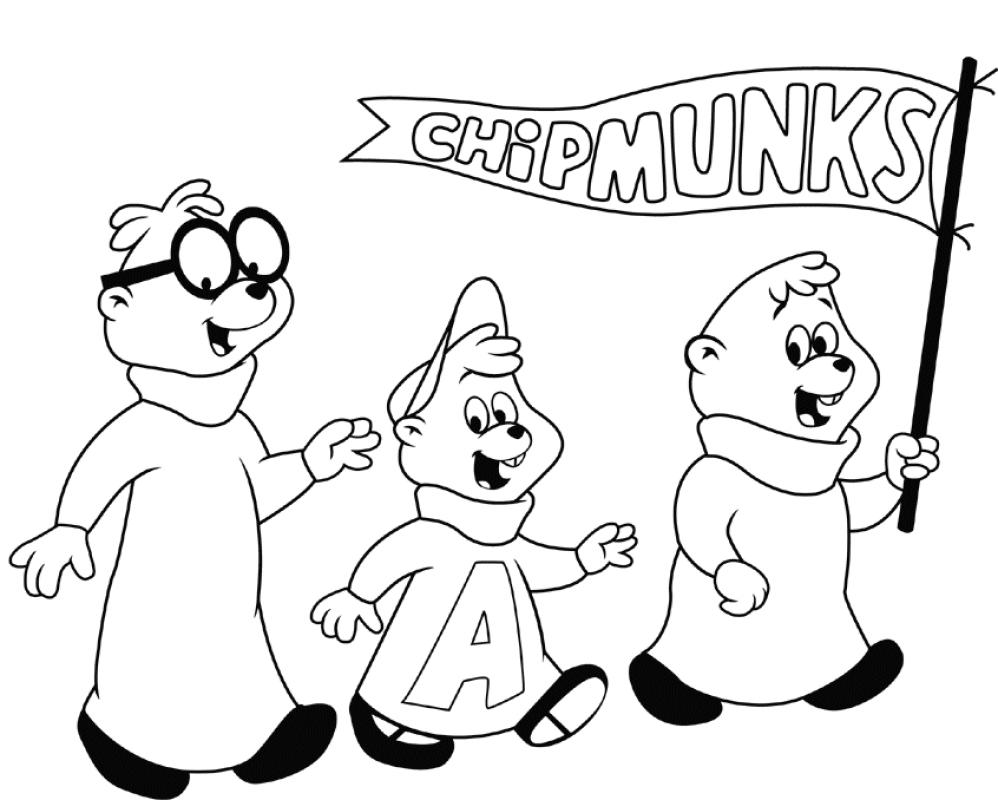Dessin De Alvin Et Les Chipmunks Á Imprimer 10 dedans Dessin De Alvin Et Les Chipmunks