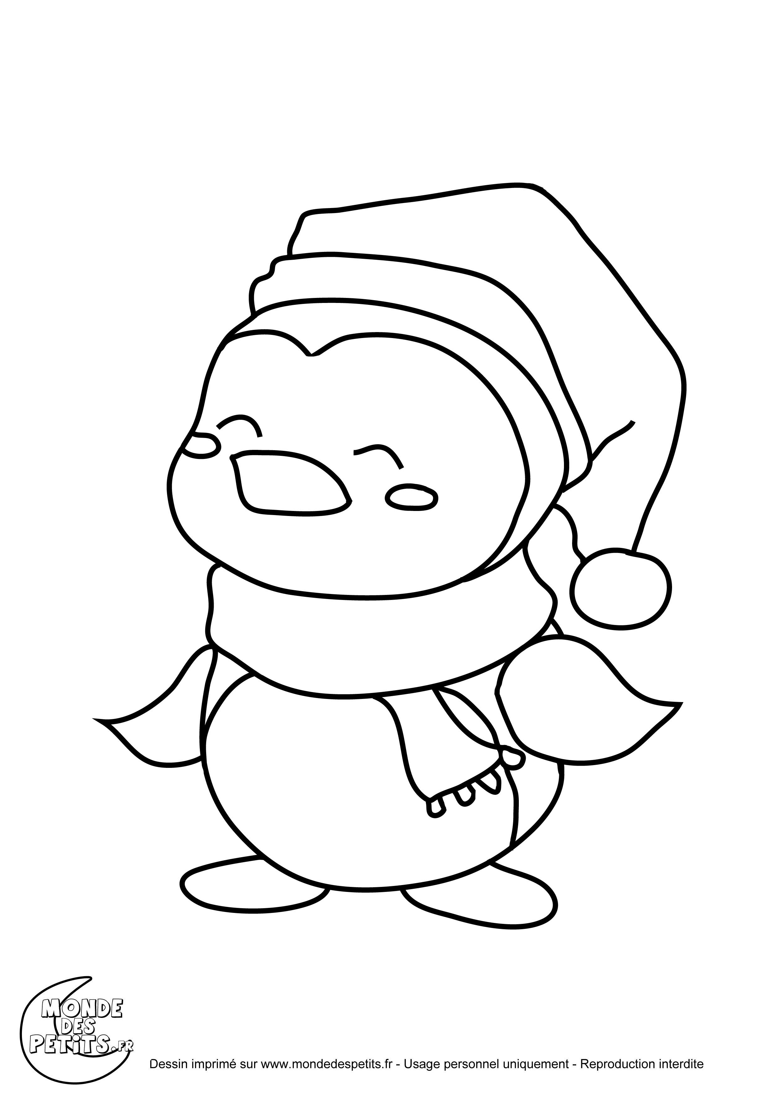 Dessin Pingouin Igloo tout Coloriage Igloo