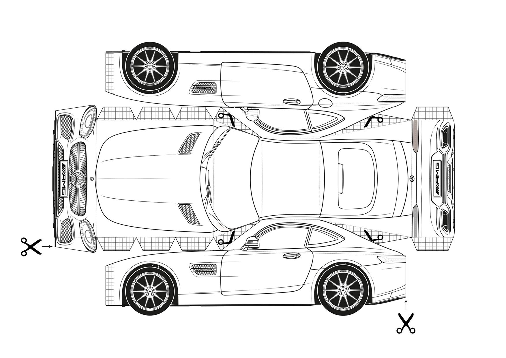 Dessins Automobiles À Imprimer : Faites Le Plein De Modèles encequiconcerne Dessin A Imprimer Gratuit Cars