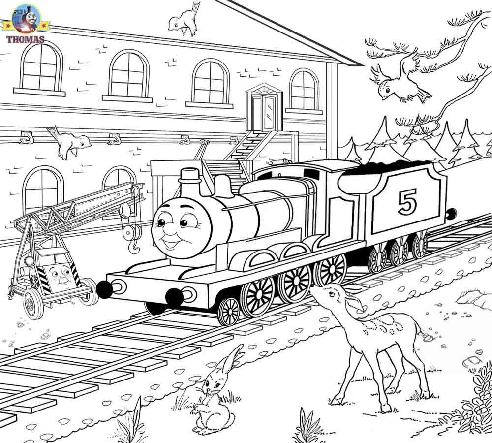 Dessins Gratuits À Colorier - Coloriage Train À Imprimer avec Coloriage Thomas Le Petit Train
