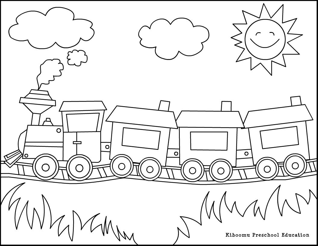 Dessins Gratuits À Colorier - Coloriage Train À Imprimer pour Coloriage Thomas Le Petit Train