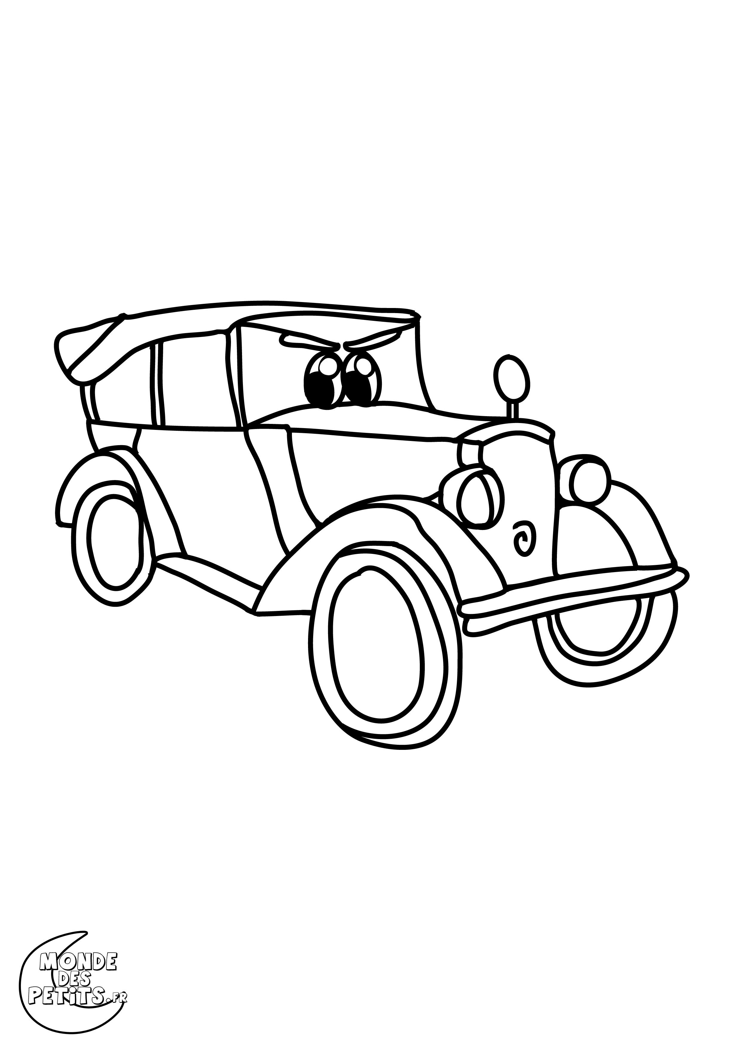 Dessins Gratuits À Colorier - Coloriage Voiture De Course À tout Coloriage Vehicule