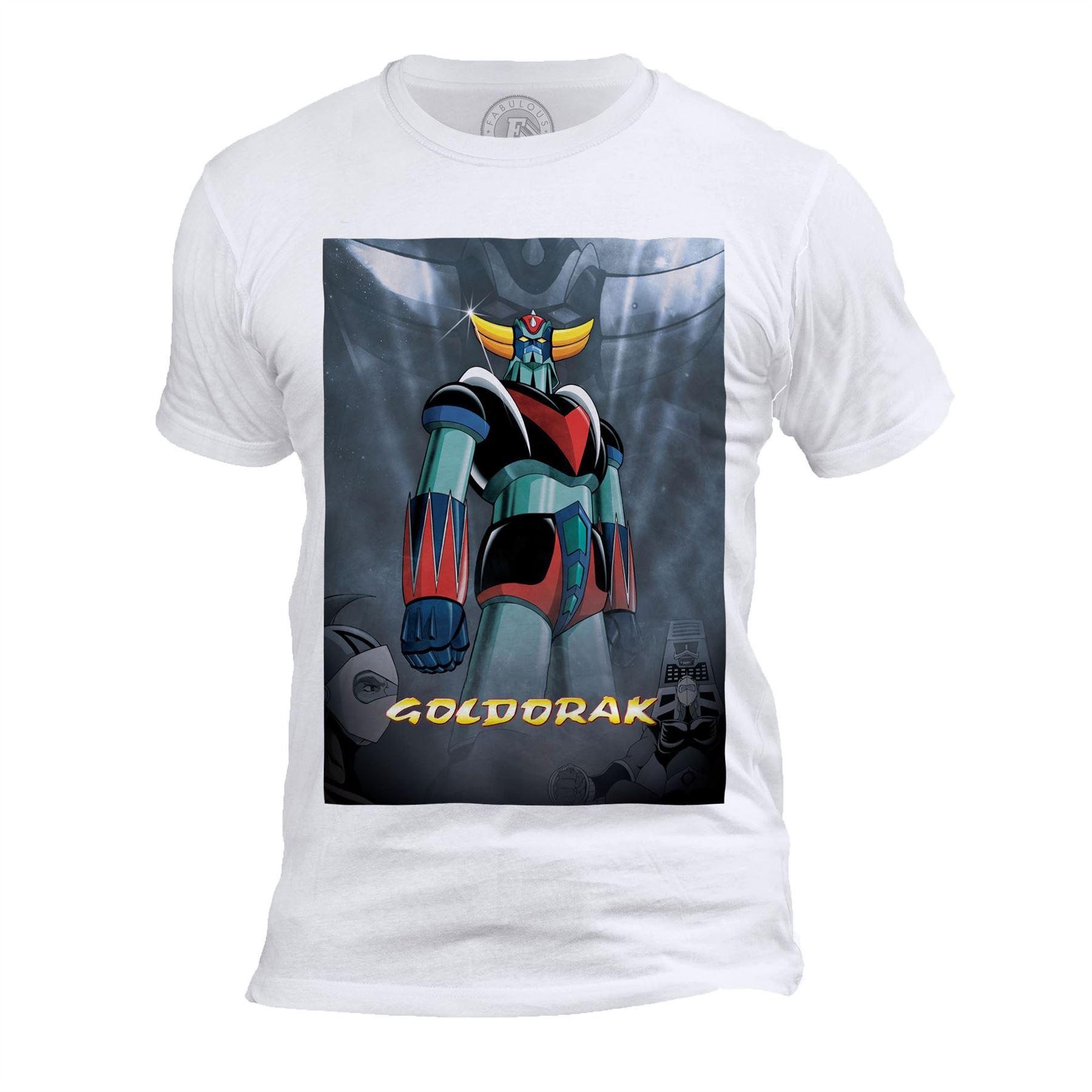 Détails Sur T-Shirt Homme Col Rond Goldorak Couleur Hero Manga Robot Dessin  Anime dedans Photos Goldorak Gratuit