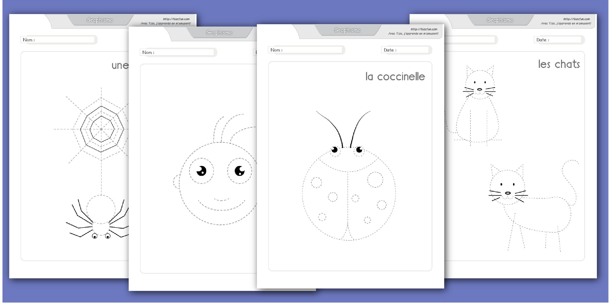 Développer La Motricité Fine Par La Pratique Du Dessin pour Fiche D Exercice Grande Section A Imprimer