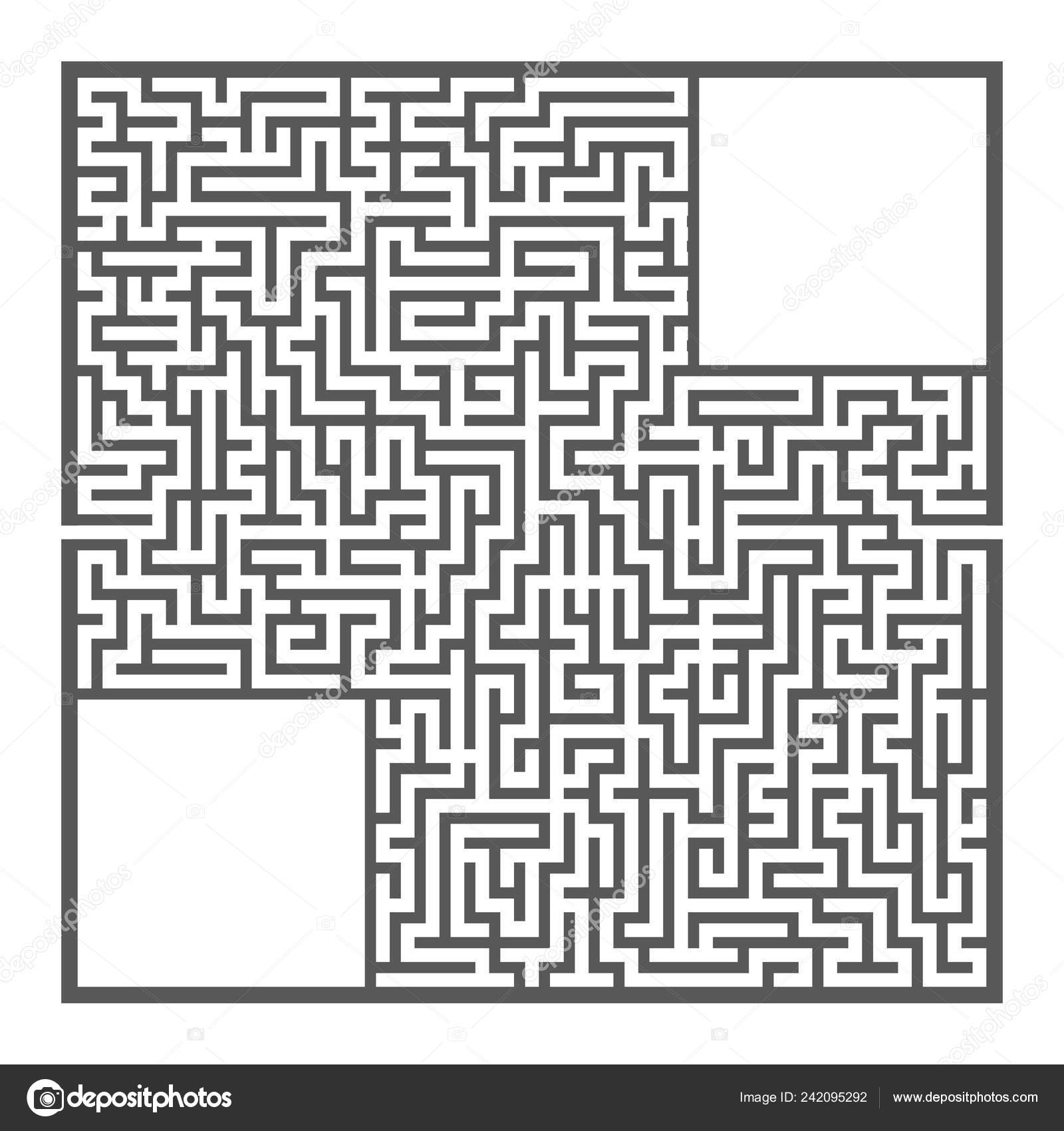 Difficult Large Square Maze Game Kids Adults Puzzle Children avec Labyrinthe Difficile