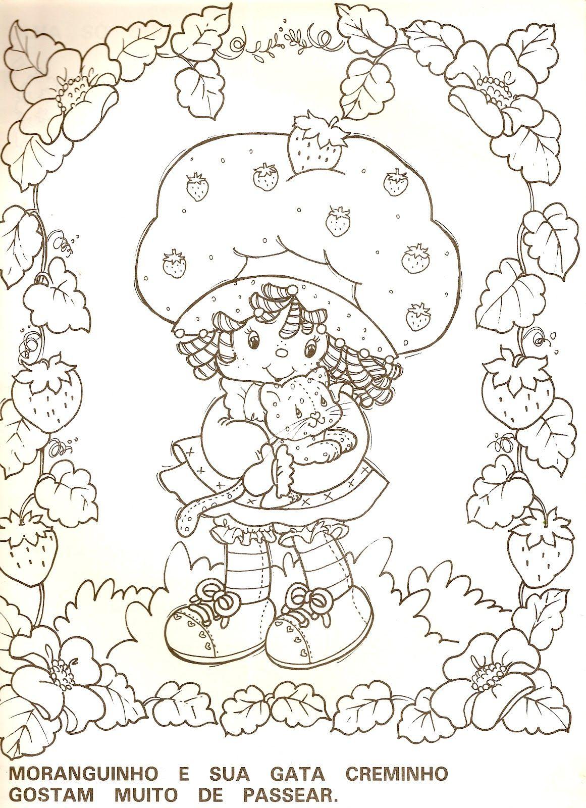 Digitalizar0159 (1161×1600) | Mandala Coloring Pages encequiconcerne Coloriage Charlotte Aux Fraises Et Ses Amies
