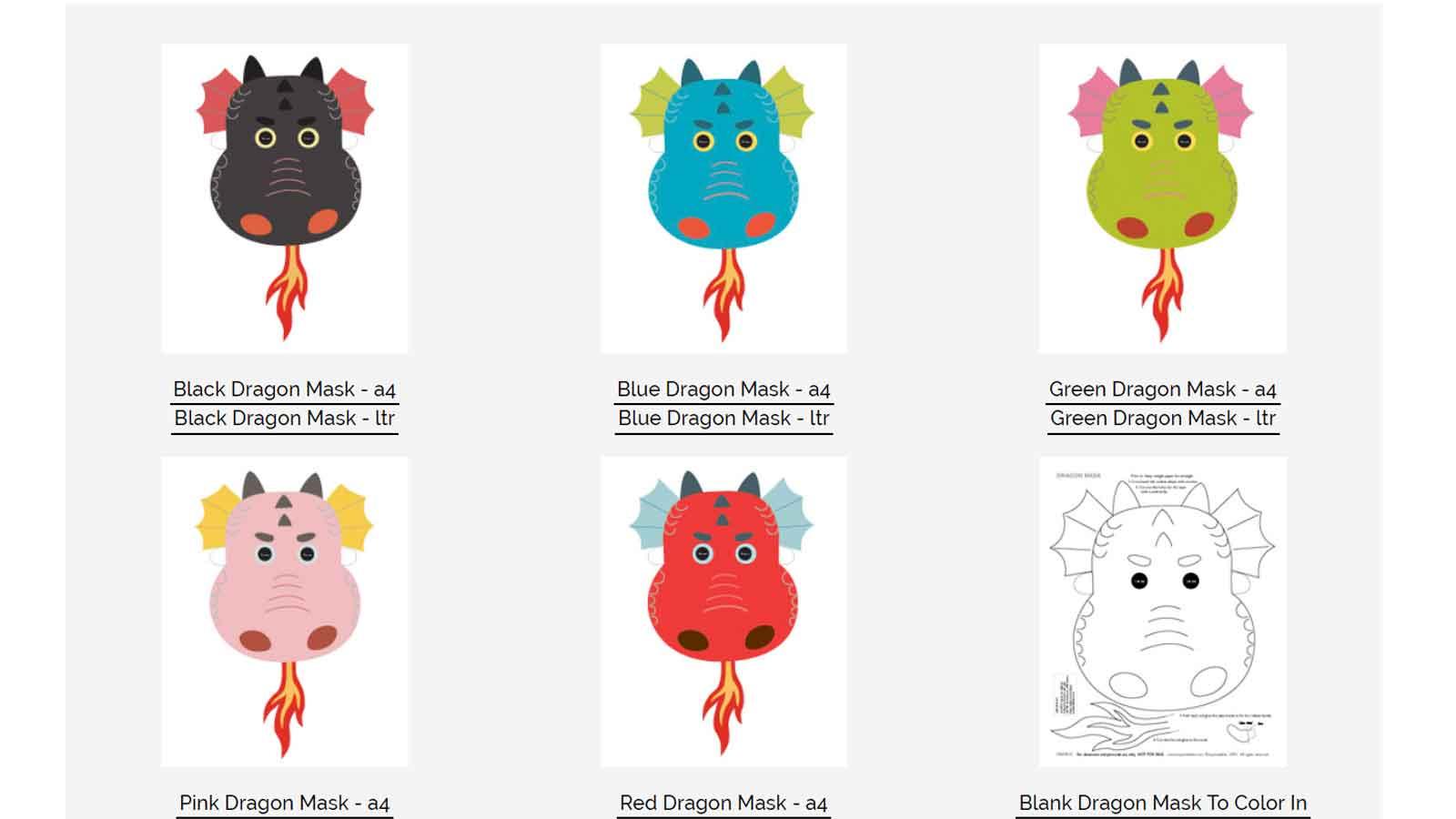 Diy : 19 Masques Gratuits À Imprimer Et Découper Soi-Même intérieur Découpage Collage Maternelle À Imprimer