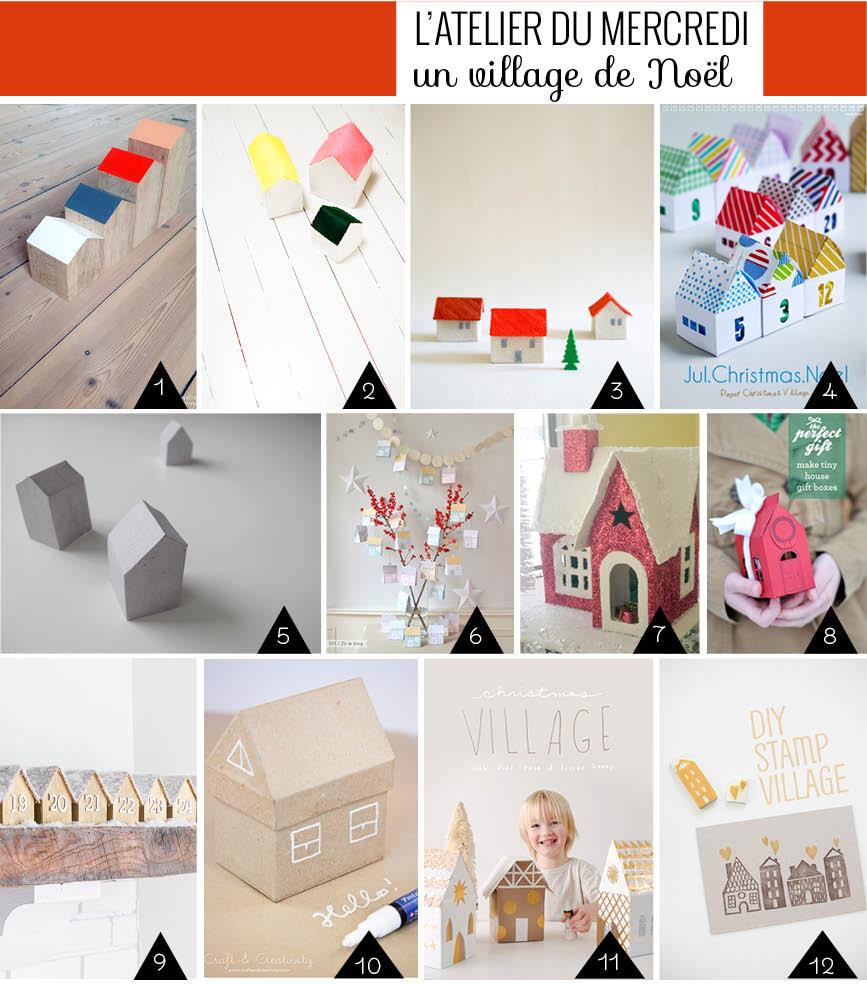 Diy : Des Petites Maisons À Fabriquer Pour Les Fêtes avec Patron De Maison En Papier A Imprimer