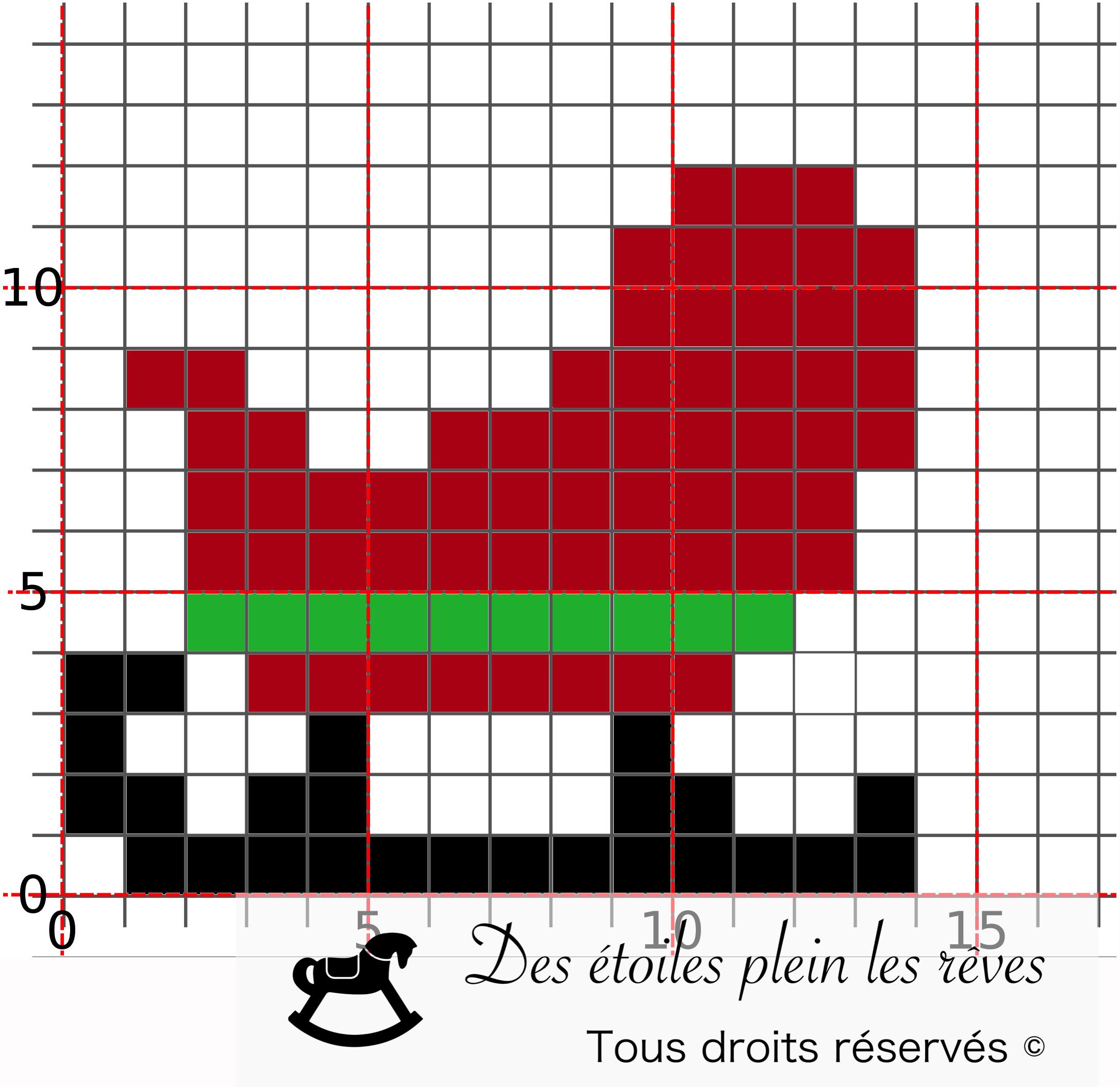 Diy En 2020 | Pixel Art Noel, Pixel Art, Broderie Point De Croix concernant Pixel Art Pere Noel