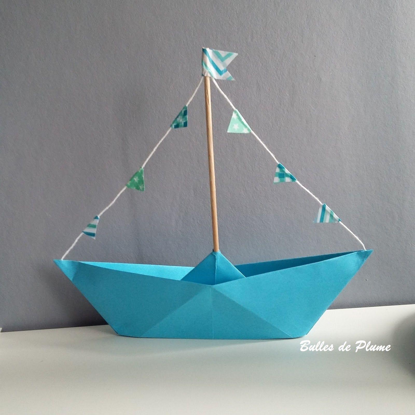 Diy Petit Bateau | Bricolage Bateau, Design Origami Et avec Origami Petit Bateau