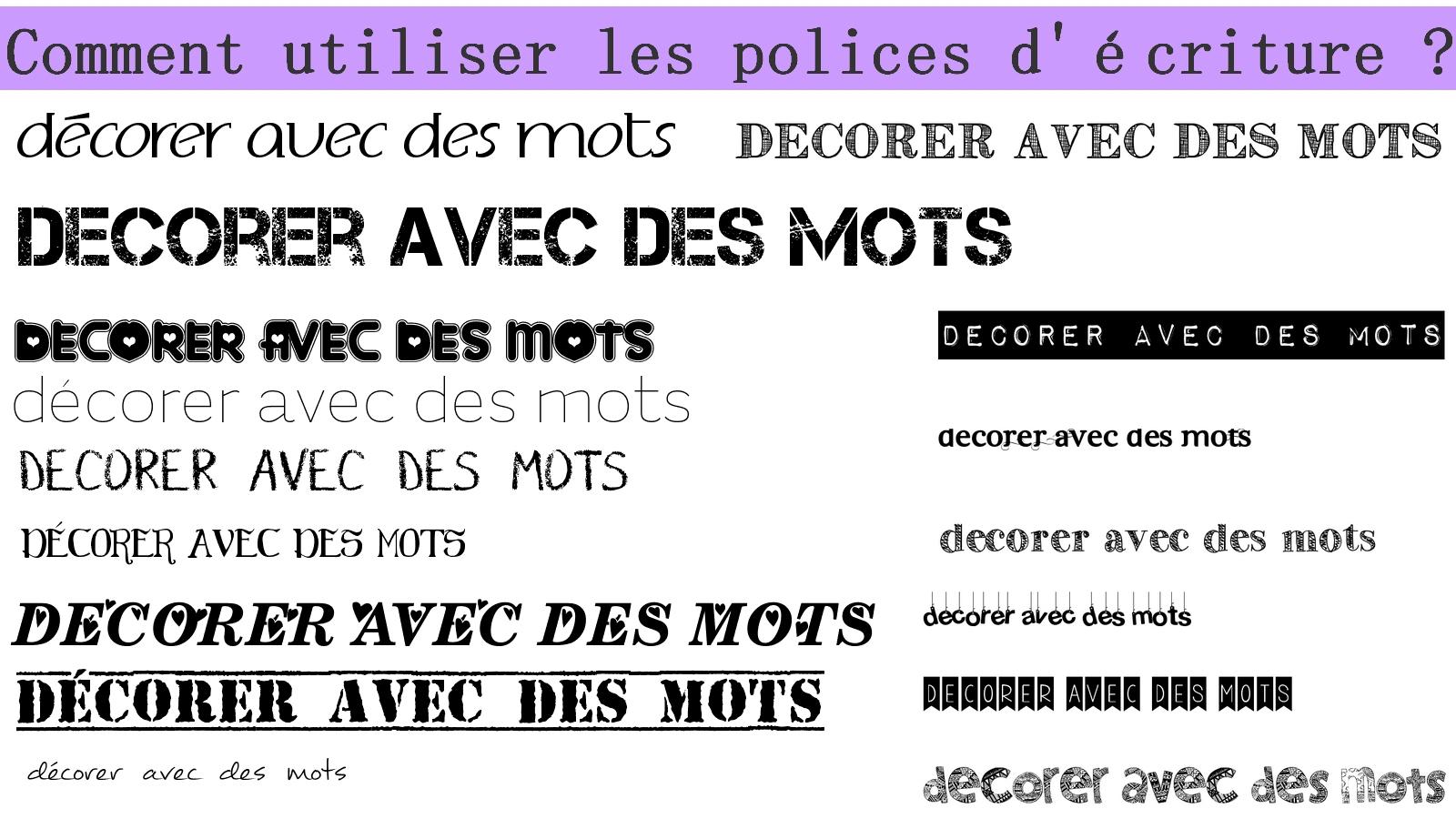 Diy Polices D'écriture Gratuite Pour Décorer - Stéphanie Bricole concernant Police Ecriture Noel