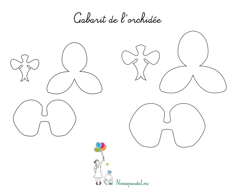 Diy Réalisation D'orchidées En Papier Crépon De Couleur Rose destiné Realisation Papier Crepon