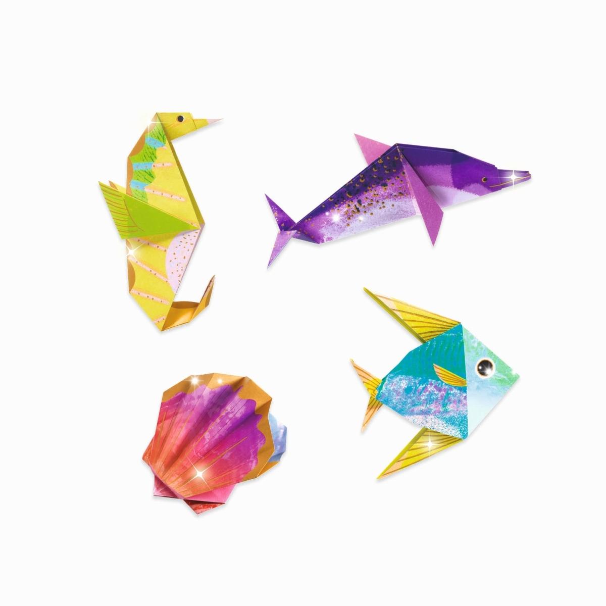 Djeco Origami Meerestiere concernant Origami Petit Bateau