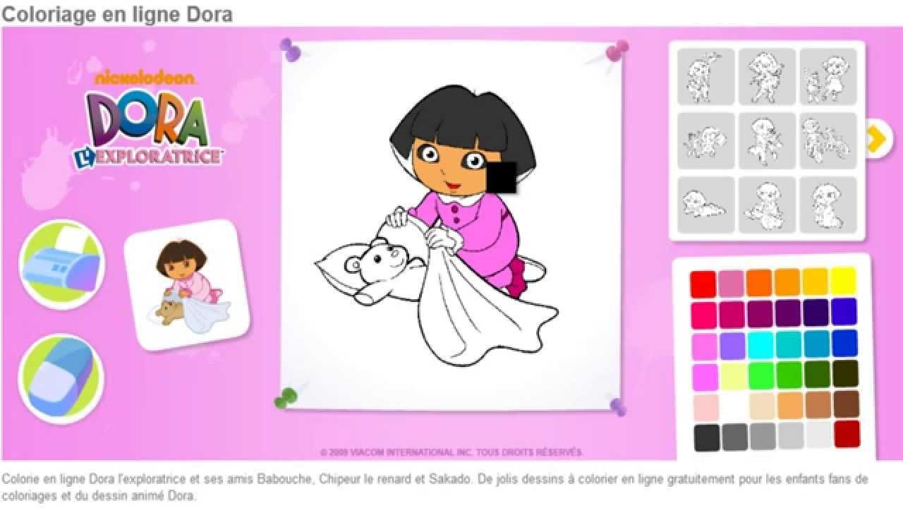 Dora Exploratrice Coloriage En Ligne Jeu Dora Enfants Hd à Jeux Enfant Gratuit En Ligne
