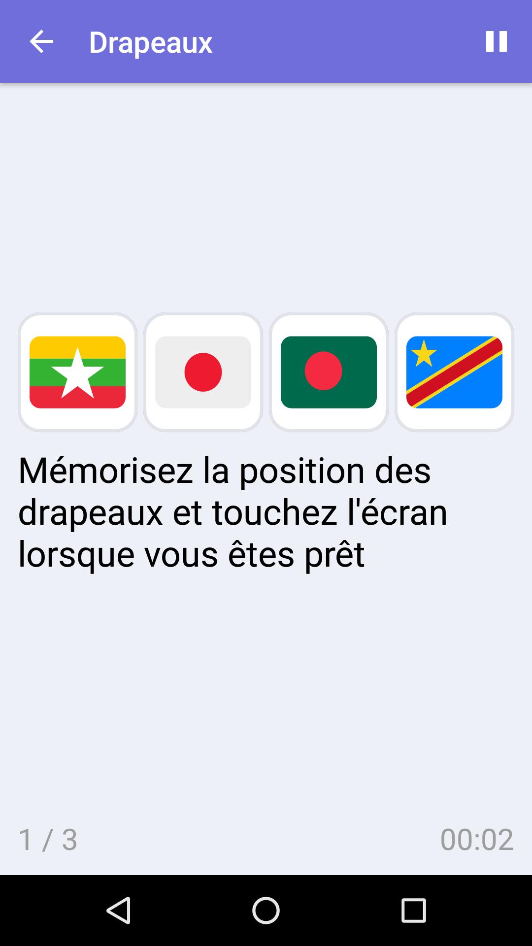 Drapeaux : Jeu De Mémoire Gratuit Pour Iphone & Android à Jeu De Memoire Gratuit