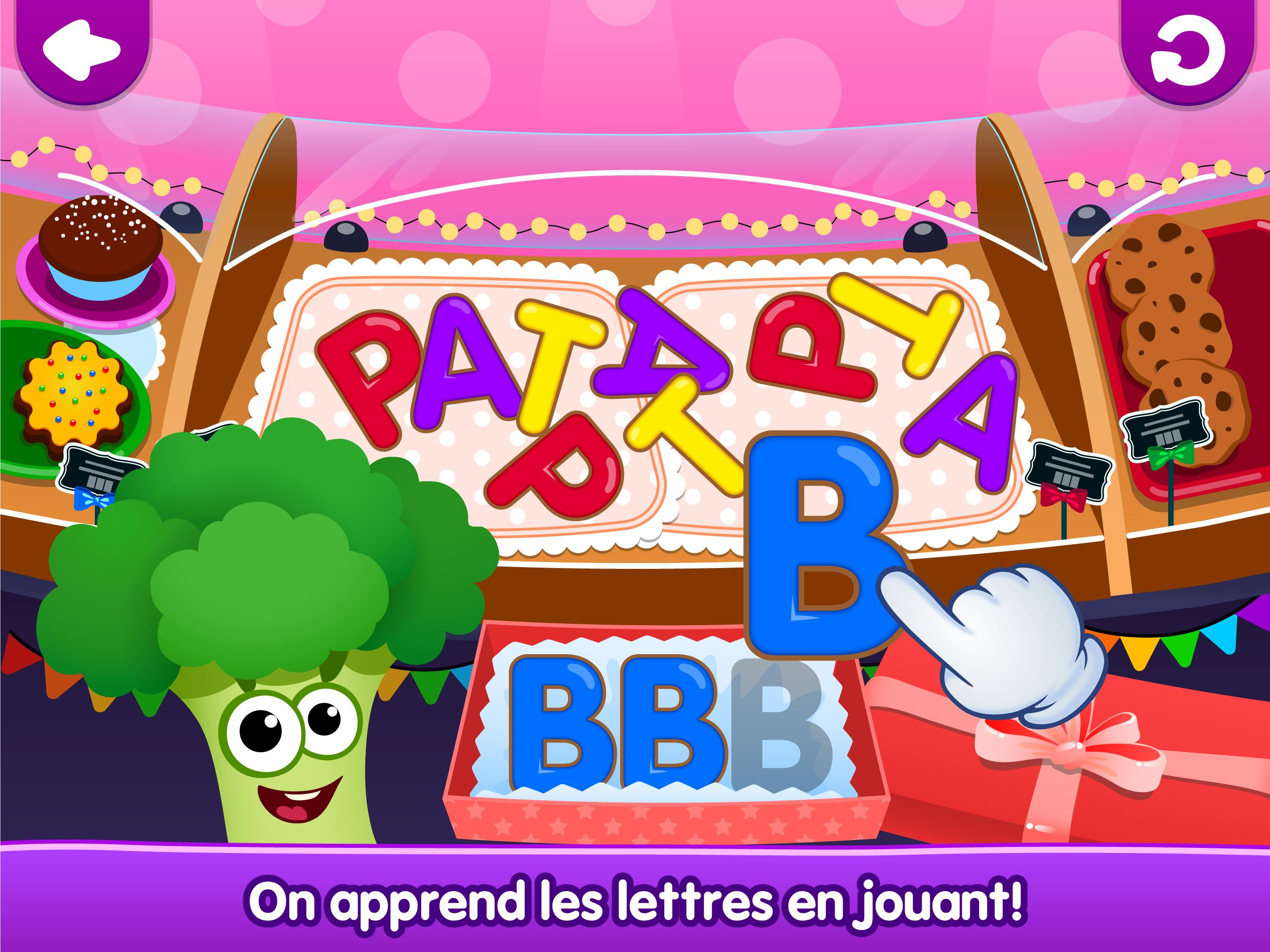 Drôle De Nourriture🥦 Jeux De Lettres Pour Enfants Pour concernant Jeux De Lettres Enfants