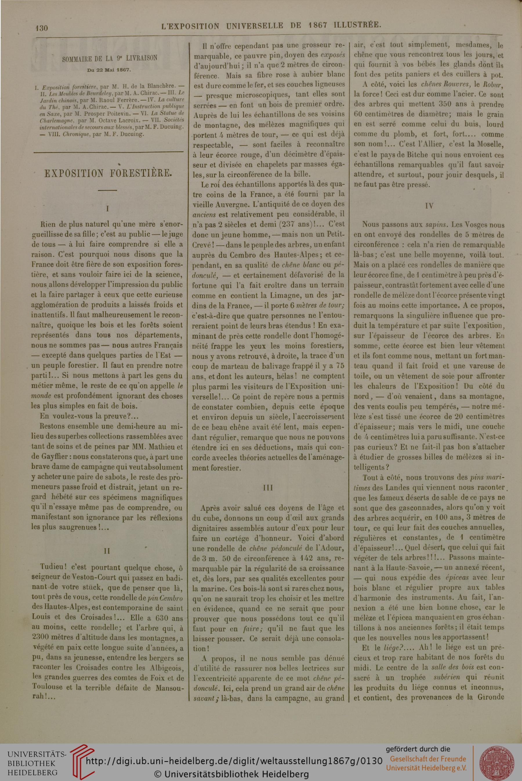 Ducuing, François [Hrsg.]: L' Exposition Universelle De tout Ours Savant