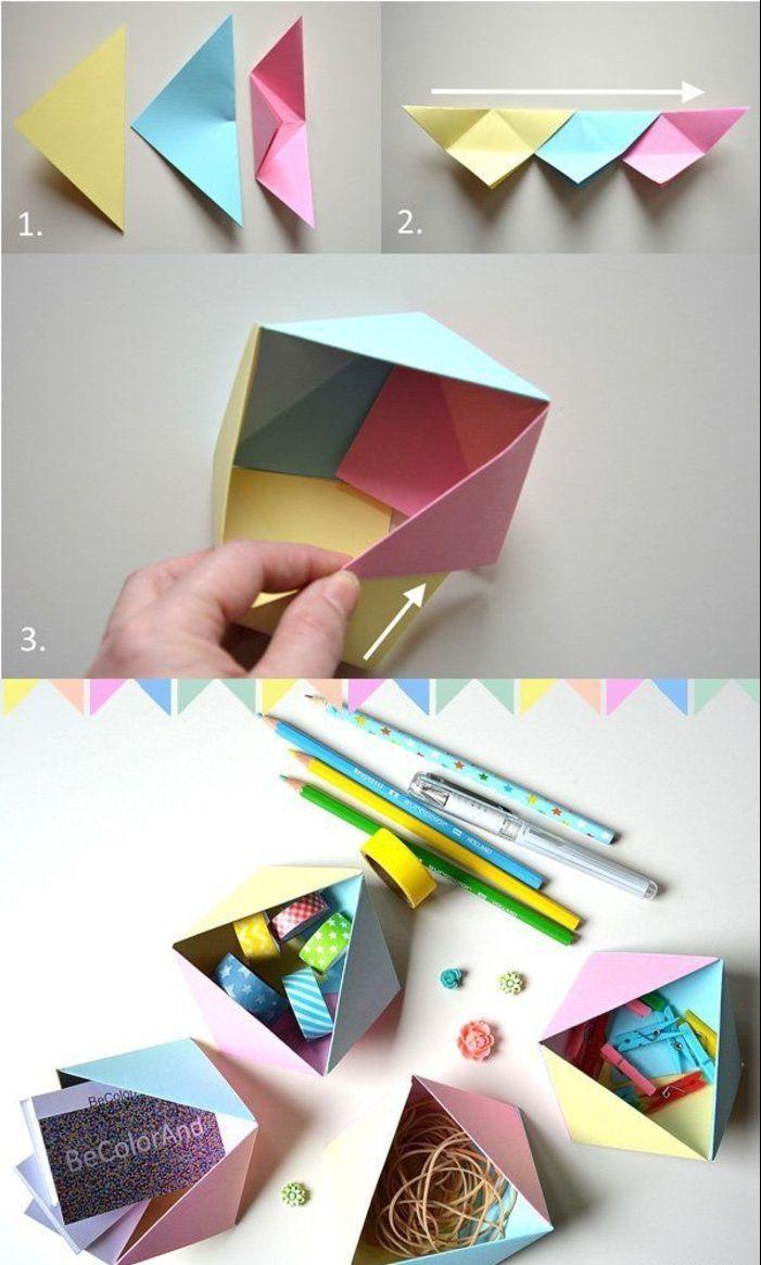 ▷ 1001 + Idées De Bricolages Pour Apprendre L'art De Pliage concernant Origami Facile A Faire En Français