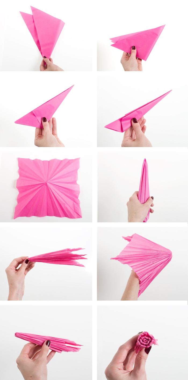▷ 1001 + Tutos Et Idées Top Comment Faire Une Fleur En concernant Origami Rose Facile A Faire