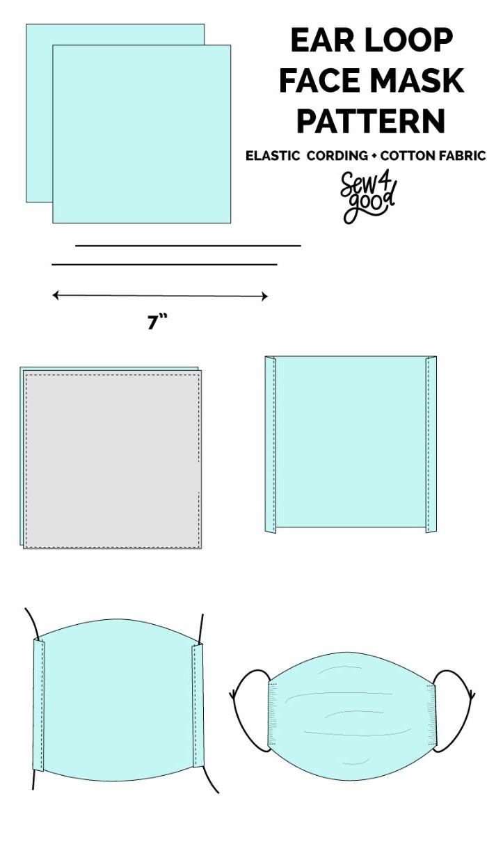 ▷ Tutos Couture Et Idées Efficaces Comment Faire Un Masque serapportantà Patron De Maison En Papier A Imprimer
